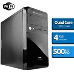 Computador Quad Core Intel, HD 500, 4GB Ram, HDMI, WiFi