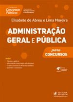 Concursos Públicos - Administração Geral e Pública (2019)