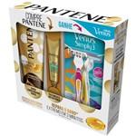 Condicionador Pantene 3 Minutos Milagrosos Summer 170ml + Ampola Restauração 15ml - Grátis 2 Aparelhos Descartáveis Gillette Venus Simply