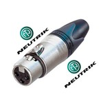 Conector Neutrik Xlr Linha Femea Nc3fxx