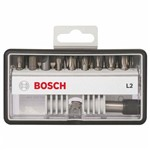 Conjunto 18+1 Pontas de Aparafusar Robust Line L Extra Hard - Bosch