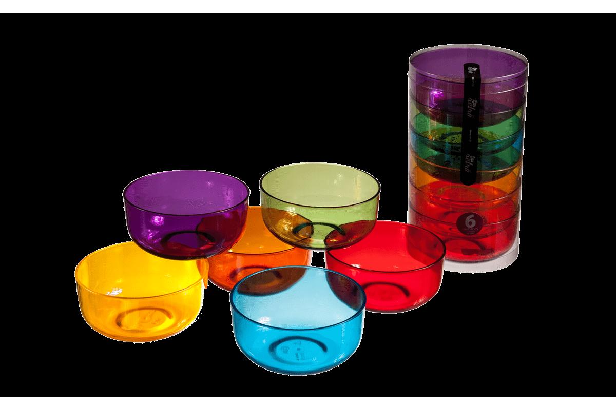 Conjunto 6 Cremeiras 300 ML Cozy Cristal Coza
