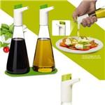 Conjunto Azeiteiro e Vinagreiro em Spray Basic Kitchen