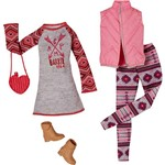 Conjunto Barbie Dois Looks CFY06/CLL21 - Mattel