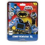 Conjunto Batman 3 em 1: Rádio + Relógio + Minigame Velocidade - Candide