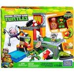 Conjunto Blocos de Montar Tartarugas Ninja Mega Bloks - Covil Esgoto das Tartarugas - Mattel