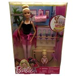 Conjunto Boneca Barbie Professora Ballet com Aluna - Mattel