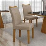 Conjunto 2 Cadeiras Pampulha Linho Bege - 7514.38.39