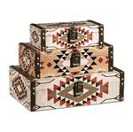 Conjunto 3 Caixas Decorativas Egip 10229 Mart