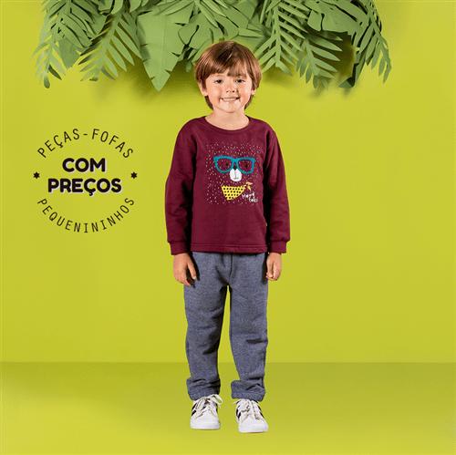 Conjunto Casaco e Calça Conj.casaco e Calca Avulso Berinjela e Listrado/8