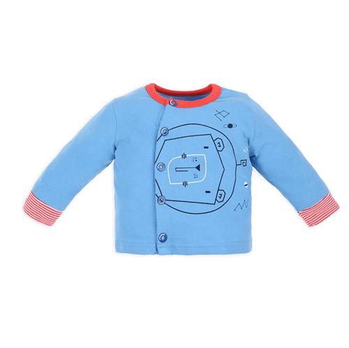 Conjunto Casaco e Calça Espacial Conj.casaco e Calca Espacial Mescla e Azul/6 a 10