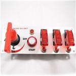 Conjunto Chave Geral Botão de Partida e Chave Caça