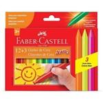 Conjunto com 15 Gizões de Cera - Faber Castell