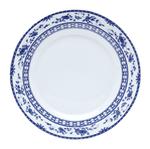 Conjunto com 6 Pratos Rasos Azul Regina Bon Gourmet