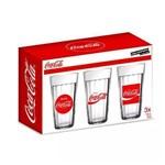 Conjunto 3 Copos Americanos Coca Cola 450ML Nadir