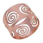 Conjunto de 4 Anéis para Guardanapos em Inox Circles Prestige