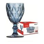 Conjunto de 6 Taças para Vinho 210ml Azul 457 Class