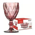 Conjunto de 6 Taças para Vinho 210ml Lilás 456 Class
