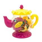 Conjunto de Acessórios - Bule Jogo de Chá - 14 Peças - Disney - Princesas - a Bela e a Fera - Toyng