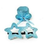 Conjunto de Acessórios Carnaval Festas Estrela Azul