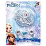 Conjunto de Acessórios Frozen 3 Peças Br624 - Multikids