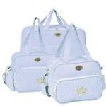 Conjunto de Bolsas Maternidade Mimo Azul Claro - Hug