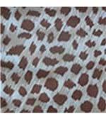 Conjunto de Calcinha e Sutiã em Microfibra Estampado com Renda - 036 Ranjado Chocolate P