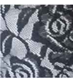 Conjunto de Calcinha e Sutiã Sublimado em Renda - 894 Branco Renda Preto 48