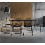 Conjunto de Mesa 0328 e 6 Cadeiras 1712 - Carraro 3281712.6.P.VP 32817126PVP