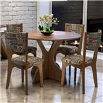 Conjunto de Mesa C/4 Cadeiras CJ1122 - Dalla Costa