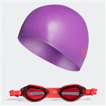 Conjunto de Natação Óculos e Touca Adidas Kids Swim Dq1712