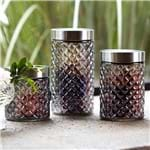 Conjunto de 3 Potes Canister Luster Luster