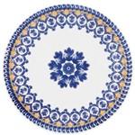 Conjunto de Pratos Rasos 6 Peças 26cm Floreal La Carreta - Oxford