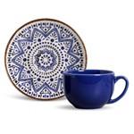 Conjunto de Xícaras de Chá Coup Inca 6 Pecas Porto Brasil