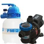 Conjunto Filtro Fm25 + M/bomba Bmc-25 1/4cv S/areia Sodramar