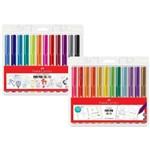 Conjunto Fine Pen Colors Faber Castell 12 Cores 2018 e 2019