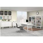 Conjunto Home Office 5 Peças Branco - Tecno Mobili