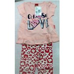 Conjunto Infantil Blusa e Legging Kyly 106761
