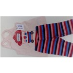 Conjunto Infantil Kyly Blusa e Shorts Ciclista 108855