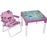 Conjunto Infantil Mesa e Cadeira Atlantis Marina Mor