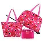 Conjunto Jacki Design de Mala/Bolsa de 3 Pçs Abc17352-Pk Pink Unico
