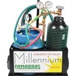 Conjunto Maçarico Aparelho de Solda PPU Oxigênio e Glp Millennium Famabras
