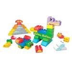 Conjunto Mega Bloks - Construtor Junior - Balde com 60 Peças - Mattel
