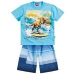 Conjunto Menino Dia de Surf Azul - Kyly 1