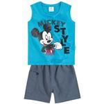 Conjunto Mickey Azul