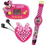 Conjunto Mini Game + Rádio FM + Relógio Minnie Candide