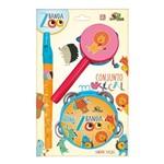 Conjunto Musical Infantil 03 Peças - Pandeiro Flauta