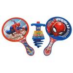 Conjunto Pião com Raquete - Disney - Marvel - Spider-man - Toyng