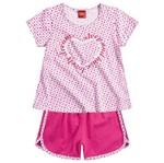 Conjunto Pijama Menina Sonhos Encantados Rosa - Kyly 4