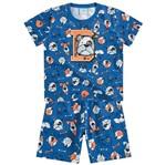 Conjunto Pijama Menino Meu Melhor Amigo Azul - Kyly 1